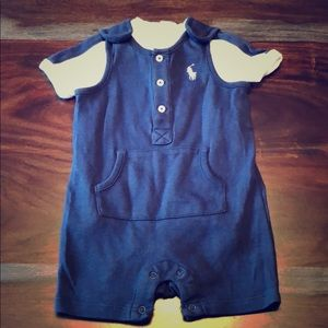 Ralph Lauren short sleeve onesie and jumper